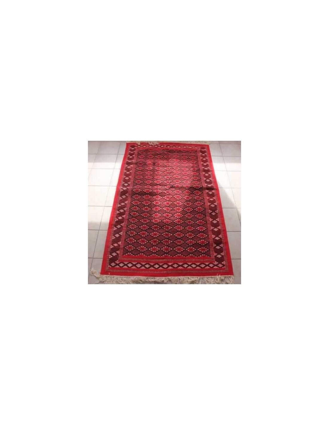 tapis en laine rouge la medina shop. Black Bedroom Furniture Sets. Home Design Ideas