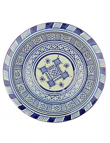 Assiette marocaine de Fes 9,5 p
