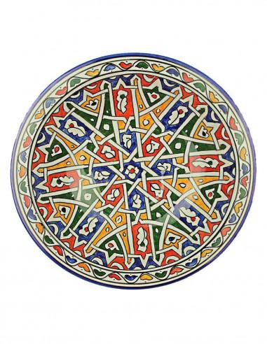 Assiette marocaine de Fes 10,75 p