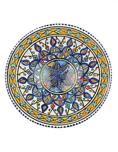 Tunisian plate 9,25 inch