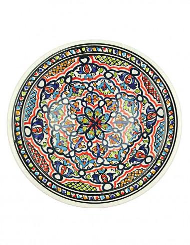 Assiette tunisienne 10,75 p