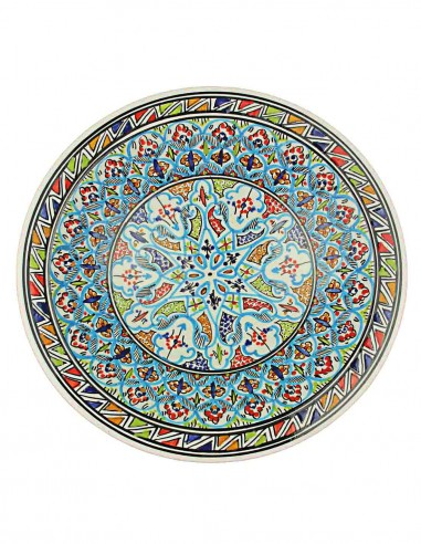 Assiette tunisienne 14,5 p