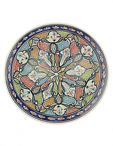 Tunisian plate 14,5 inch