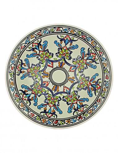 Tunisian plate 13 inch