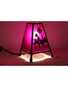 Lampe de table petite bleue Khlel